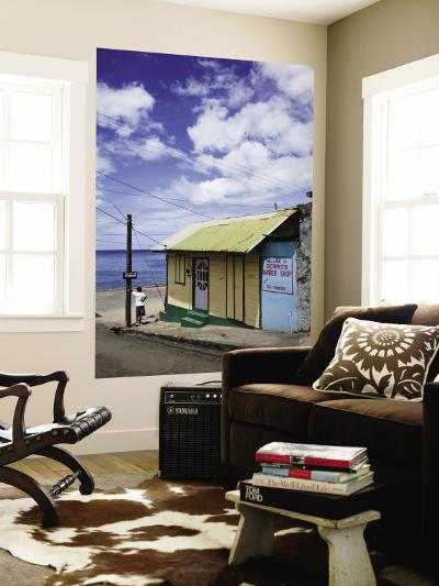 Gerrit's Barber Shop on Waterfront-Angus Oborn-Wall Mural