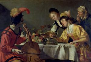 Concert by Gerrit van Honthorst