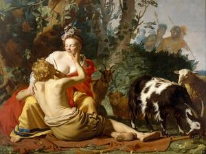 Granida and Daifilo, 1625 by Gerrit van Honthorst
