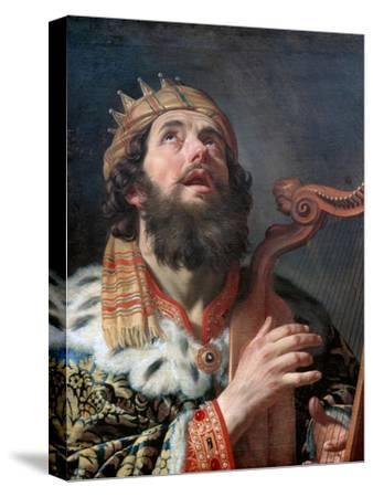 King David Playing the Harp, 1622