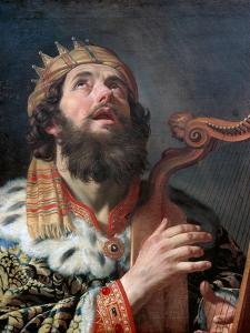 King David Playing the Harp, 1622 by Gerrit van Honthorst