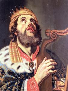 King David by Gerrit van Honthorst
