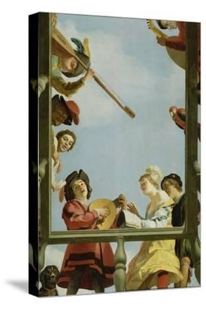 Musical Group on a Balcony, 1622