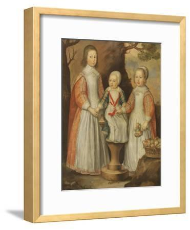 Portrait of the Three Children of George Preston of Holker, 1650