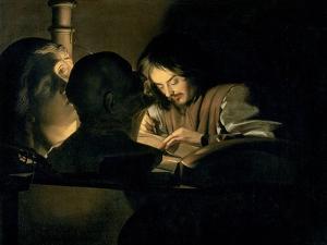 The Artist at Work by Gerrit van Honthorst