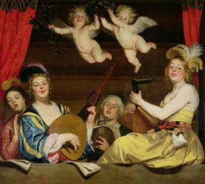 The Concert, 1624 by Gerrit van Honthorst
