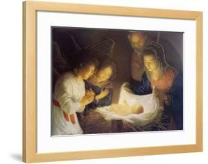 The Nativity by Gerrit van Honthorst