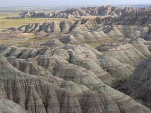 Eroded Landscape, Badlands National Park, South Dakota by Gerry Ellis