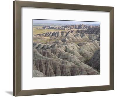 Eroded Landscape, Badlands National Park, South Dakota