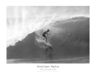 Gerry Lopez, Pipeline-Bill Romerhaus-Art Print