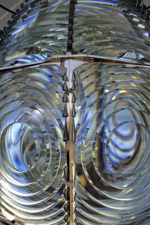 Lighthouse Lens, Oregon, USA