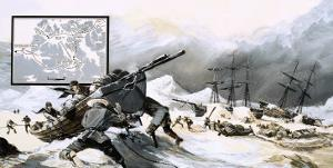 In the Ice For over Two Years, John Franklin's Men Abandoned Their Ship and Set Out on Foot by Gerry Wood