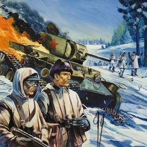 Skirmishes in the Snow by Gerry Wood