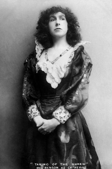 Gertude Constance Cockburn, English Actress, Early 20th Century-J Caswall Smith-Photographic Print