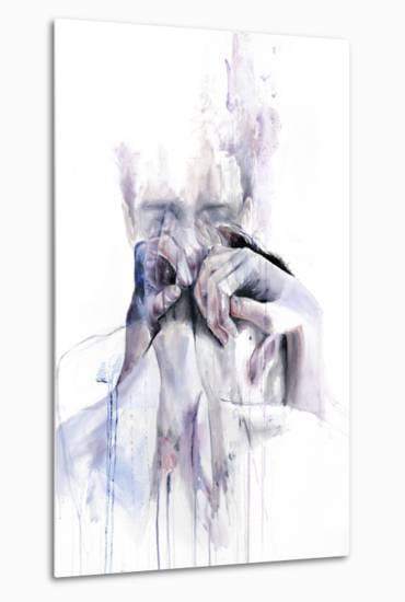 Gestures-Agnes Cecile-Metal Print