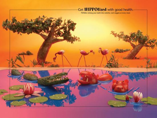 Get Hippotized Foodscapes™--Laminated Poster