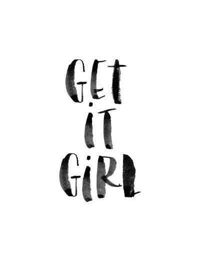 Get It Girl-Brett Wilson-Art Print