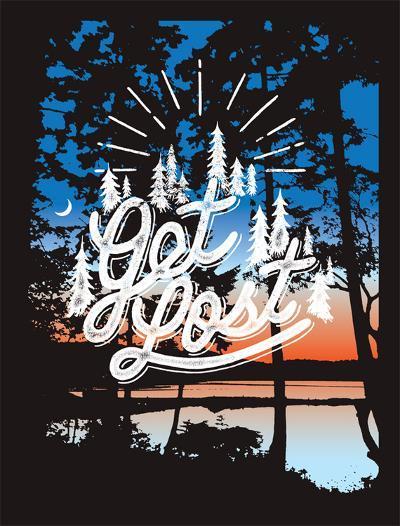 Get Lost-Mike Klay-Serigraph