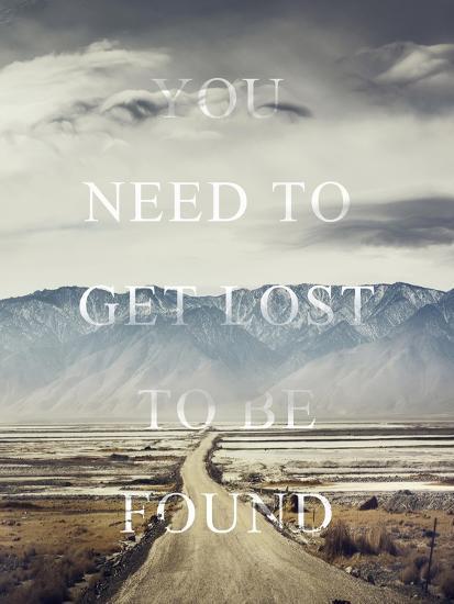 Get Lost-Design Fabrikken-Premium Giclee Print