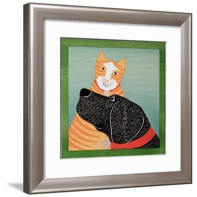 Get Love Give Love-Stephen Huneck-Framed Giclee Print