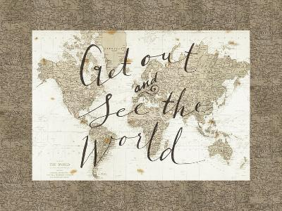 Get Out and See the World Border-Sara Zieve Miller-Art Print