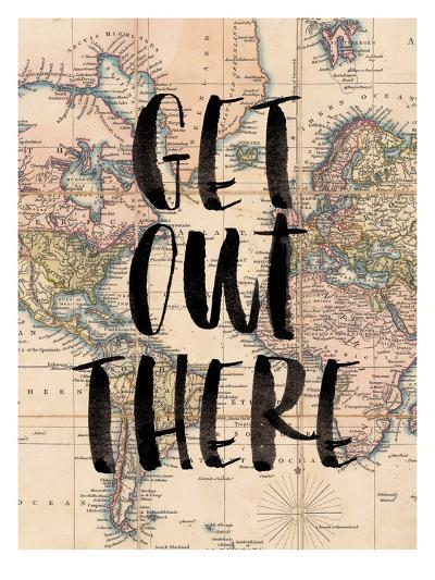 Get Out There-Brett Wilson-Art Print