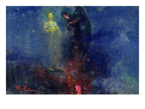 Get Thee Hence, Satan!-Ilya Efimovich Repin-Giclee Print