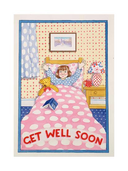 Get Well Soon-Lavinia Hamer-Giclee Print