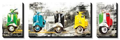 Get Your Mopeds Running-Bresso Sola-Canvas Art Set