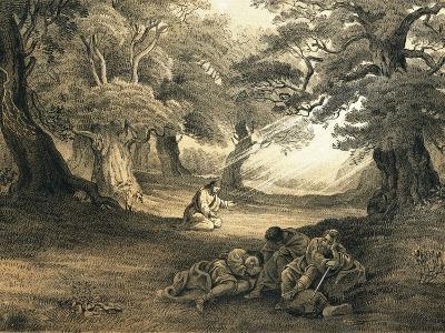 Gethsemane-English-Giclee Print