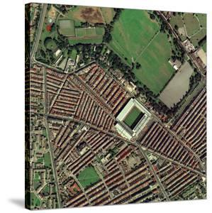 Liverpool's Anfield Stadium, Aerial View by Getmapping Plc