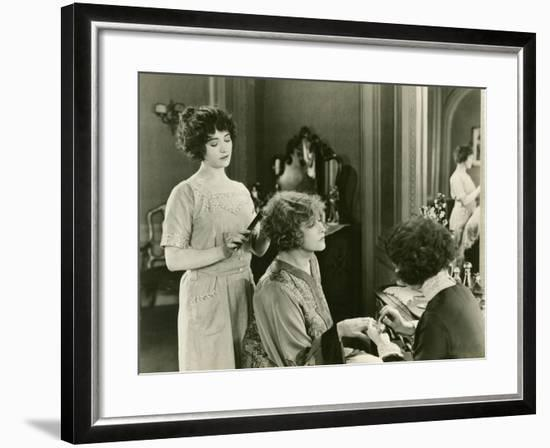 Getting a Makeover--Framed Photo