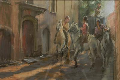 Getting Ready for the Bull Run, 2009-Pat Maclaurin-Giclee Print