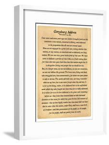 Gettysburg Address Full Text