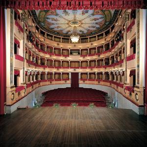 Sanzio Theater by Ghinelli Vincenzo