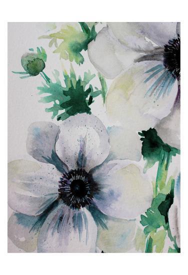 Ghost Blooms 2-Boho Hue Studio-Art Print