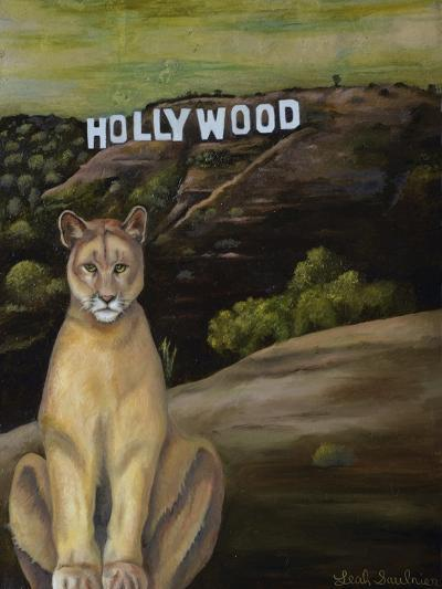 Ghost Cat-Leah Saulnier-Giclee Print