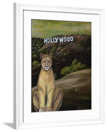 Ghost Cat-Leah Saulnier-Framed Giclee Print