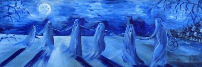 Ghost Dance Halloween-sylvia pimental-Art Print