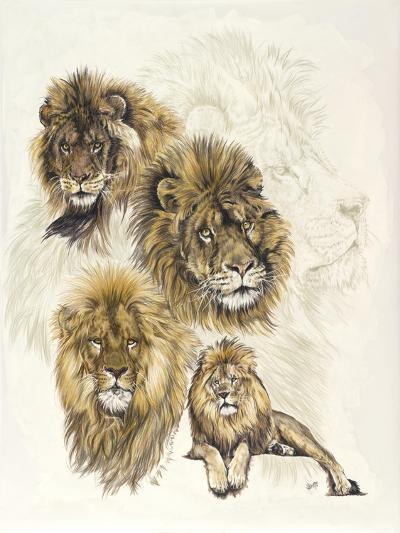 Ghost Image Lion-Barbara Keith-Giclee Print