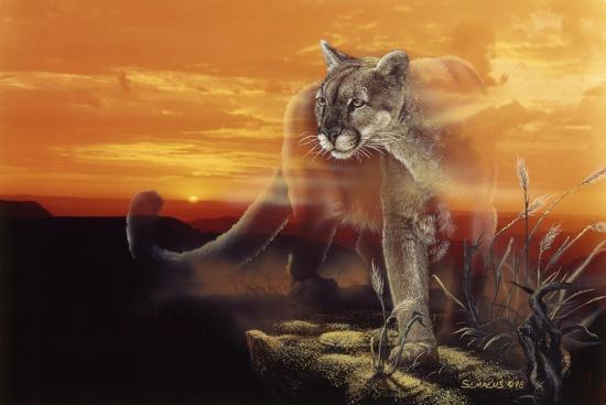 Ghost of the Badlands-Gordon Semmens-Giclee Print