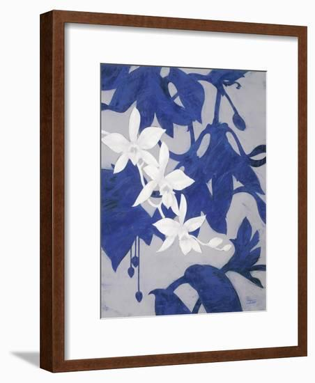 Ghost Orchid 2-Ivo-Framed Art Print