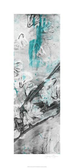 Ghost Print Floral II-Jennifer Goldberger-Limited Edition