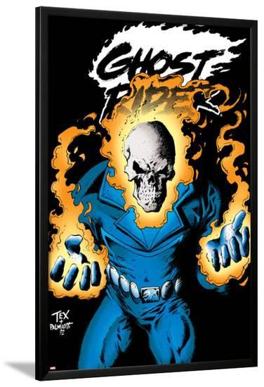 Ghost Rider: Highway To Hell Cover: Ghost Rider-Mark Texeira-Lamina Framed Poster