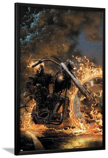 Ghost Rider No.1 Cover: Ghost Rider--Lamina Framed Poster