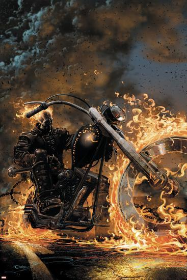 Ghost Rider No.1 Cover: Ghost Rider--Art Print