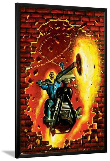Ghost Rider No.15 Cover: Ghost Rider--Lamina Framed Poster