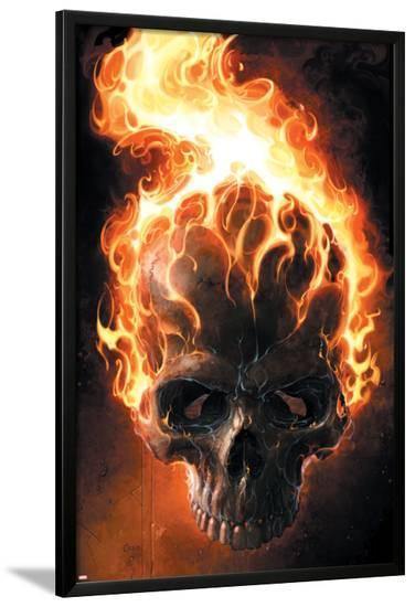 Ghost Rider No.2 Cover: Ghost Rider--Lamina Framed Poster