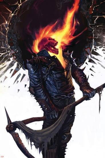 Ghost Rider No.22 Cover: Ghost Rider--Art Print