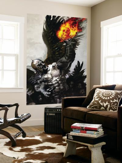 Ghost Rider No.32 Cover: Ghost Rider--Wall Mural
